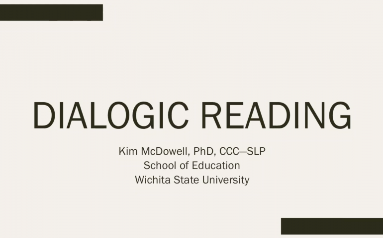Dialogic Reading Training